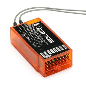 CM703 2.4G 7CH RC Приемник с выходом PPM для RC Дроны