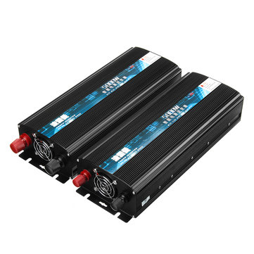 5000W Intelligent Power Inverter DC 12/24V To AC 220V Modified Sine Wave Inverter Dual LCD Display