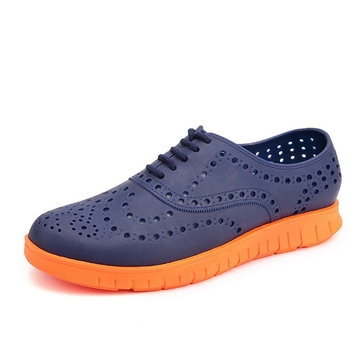 Men Casual Breathable Hollow Outs Slip On Sneakers Beach Shoes