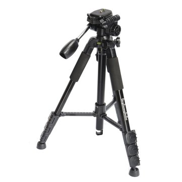 Q111 Aluminium Tripod Monopod Max Loading 3KG With Ball Head For Digital DSLR Camera Camcorder