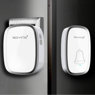 Waterproof Wireless Cordless Home Digital Doorbell Wall Plug-in Music Door Chime Kit