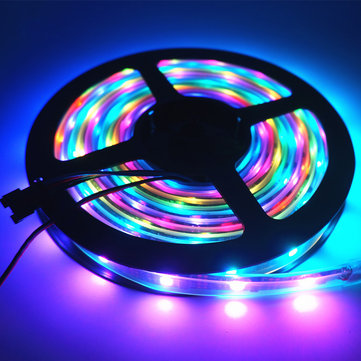 DC5V 5M SMD 5050 WS2812B Arduino RGB 10 mm Impermeable LED Strip Cuerda luz