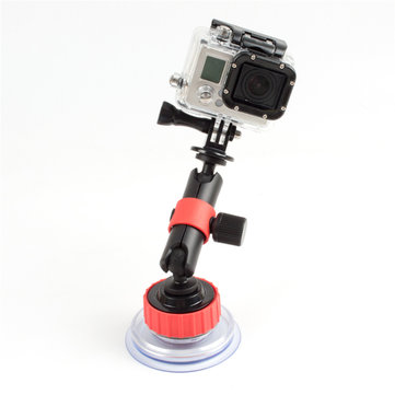 Orange Car Suction Cup Mount Window Glass Sucker For Gopro SJACM YI Camera