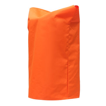 450D Boat Outboard Motor Prop Propeller Cover Orange Drawstring w/ Drain Hole
