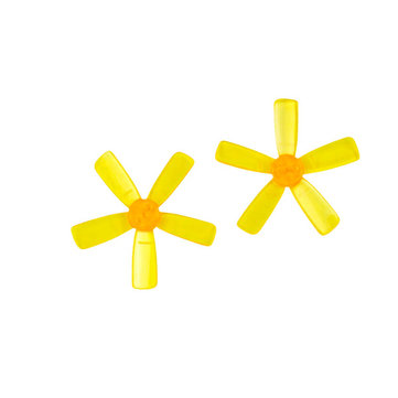 10 Pairs KINGKONG/LDARC 1935 1.9X3.5 CW CCW 5-blade Propeller 1.5mm Mounting Hole for FPV RC Drone