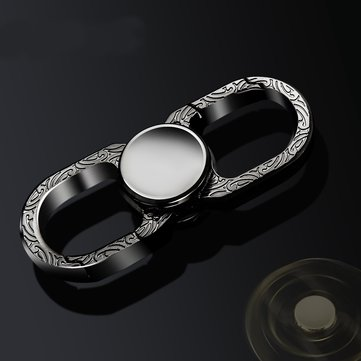 Multi-Function Keychain Finger Spiral Alloy Hand Spinner