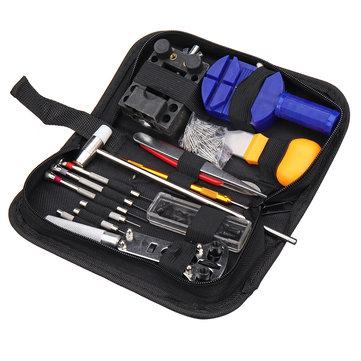147Pcs Watch Repair Tools Kit Case Opener Link Spring Bar Remover Watchmaker Tool