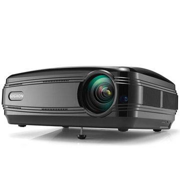 Gigxon G58 3200 lumens Portable 1080p Home Theater Projector LED HD Outdoor and Movie Projector