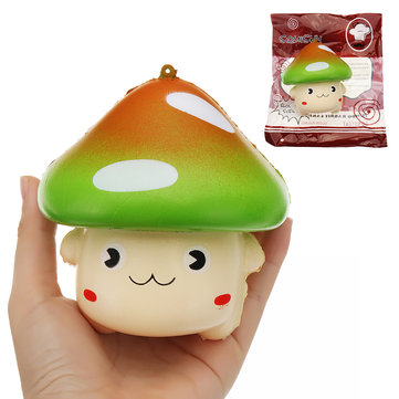 YunXin Wave Point Large Mushroom Squishy 11*11CM Slow Rising With Packaging Collection Gift Soft Toy