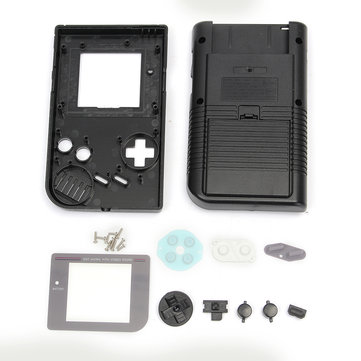 Black Replacement Game Console Housing Shell Case For Nintendo Gameboy Classic For GB DMG