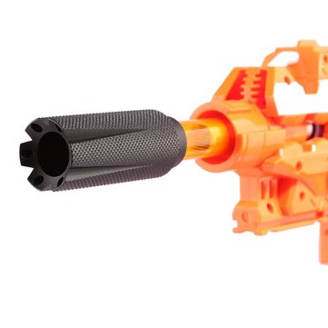 WORKER AK Series Flash Hider Version C For Nerf N-strike Elite Retaliator Toys Accessory
