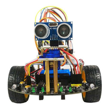DIY Smart Wifi RC Robot Car Kit Infrarød Evades Obligationer Følgende Tracking 30% off