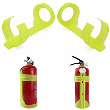 2kg Size Plastic Fire Extinguisher Bracket Vehicle Wall Mount