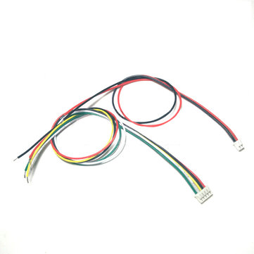 2 Pair Aomway 5.8G 20cm Generic DIY Transmitter Cable Molex PicoBlade 1.25mm 5P/JST-PH 2mm 2P for FP