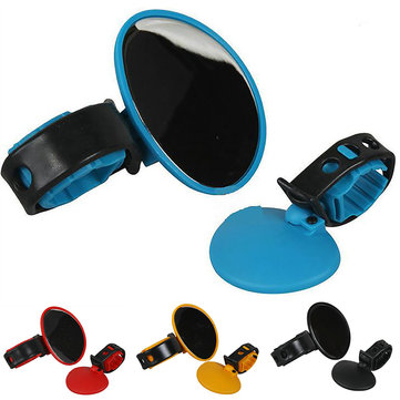 BIKIGHT ABS Bike Bicycle Mirror 360° Rotatable MTB Road Bike Cycling Rearview Mirror