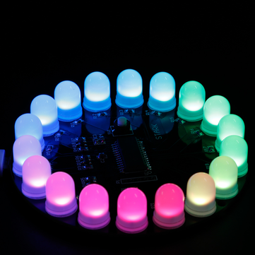 Original Finalizado Mini Aurora Suite Kit electrónico DIY Aurora LED 18LED Aurora Light