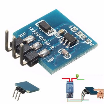 3pcs TTP223B Digital Touch Sensor Capacitive Touch Switch Module For Arduino