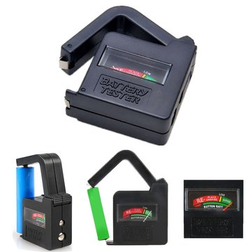 Universal Battery Volt Tester AA AAA C D 9V Button Cell