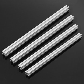 200/250/300/350mm Length 2020 T-Slot Aluminum Profiles Extrusion Frame For CNC