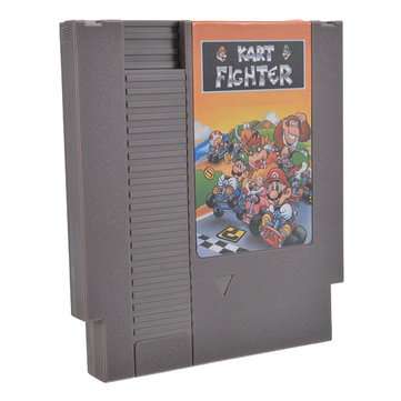 Kart Fighter 72 Pin 8 Bit Game Card Cartridge for NES Nintendo