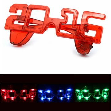 2016 New Year Light Up Party National Day Festival LED Eyewear Glasses