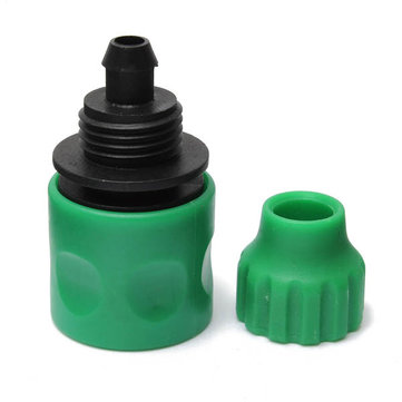 3/8 Inch Garden Water Hose Fast Joint Plastic Spray Nozzle Connector Fitting