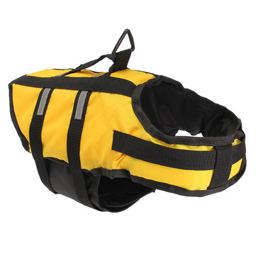 Dog Pet Float Life Jacket Life Vest Aquatic Safety Swimming Suit Boating Life Jacket