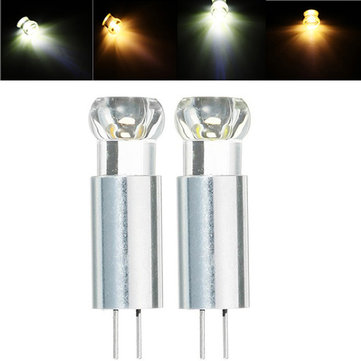 G4 1.5W Dimmable Warm White Cool White COB LED Light Bulb DC12V