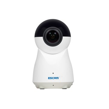 ESCAM QP720 H.265 1080P 720 Degree Panoramic WiFi IP Camera IR Motion Alarm Video Audio Record