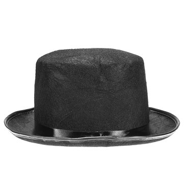 Halloween Wizard Vampire Adult Kids Magic Black High Hat