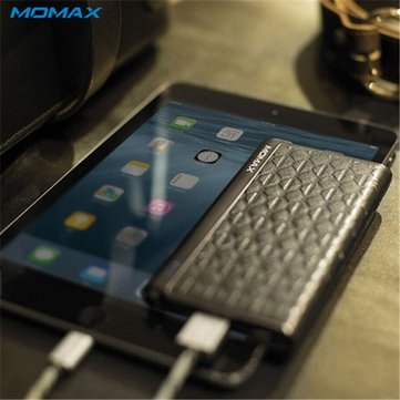 MOMAX 5000mAh Universial Portable Power Bank Supply External Battery Charger For iPhone 6S 6S Plus