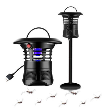 Garden USB Electronic Mosquito Killer Lamp Outdoor Mosquito Trap Bug Insect Fly Killer Zapper UV Night Light