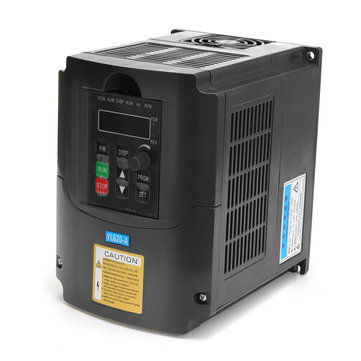 110V 1.5kw Variable Frequency Inverter Built-in PLC Single Phase In Three Phase Out Speed Control