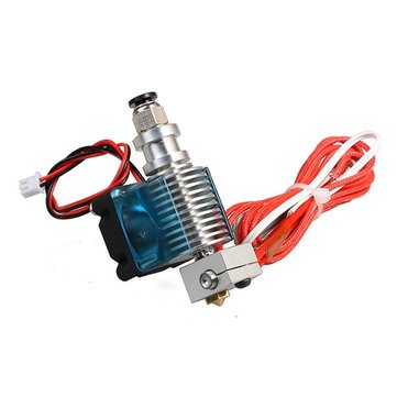 Geekcreit® 0.4mm Metal 3D Printer Extrusion Head Exturder Nozzle With Fan