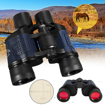60x60 Optical Binocular Low Light Level Night Vision Telescope HD High Clarity 3000M