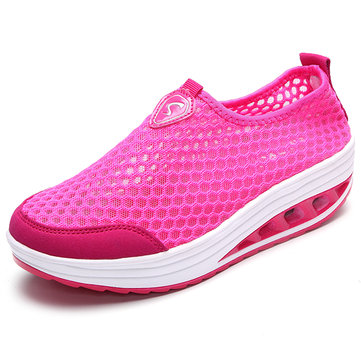 Shoes Women Mesh Breathable Comfortable Shook Shoes Outdoor Casual Sport Shoes