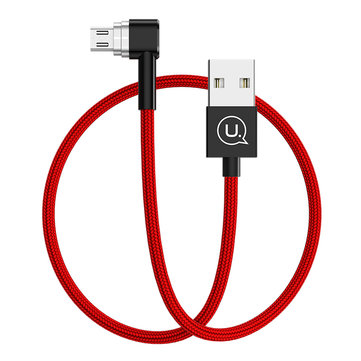 USAMS 2A U-Boss serie Micro Magnetic Charging Data Cable 1.2M per SamsungS7 Xiaomi Redmi Note4 Letv