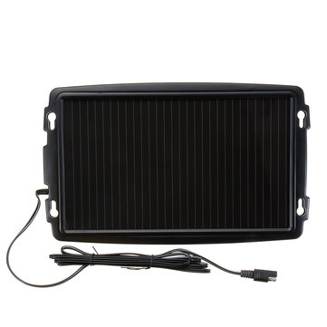 18V 2.4W Solar Panel Battery Charger Backup For Car Boat Caravan Power Supply