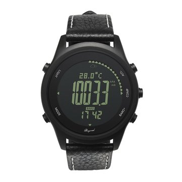 S3 Ultra Thin Outdoor Sport Watch Pedometer Compass Barometer Digital Watch