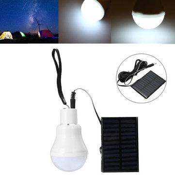 110LM Solar Powered LED Bulb Camping Hiking Emergency Light Portable Outdoor Tent Night Light