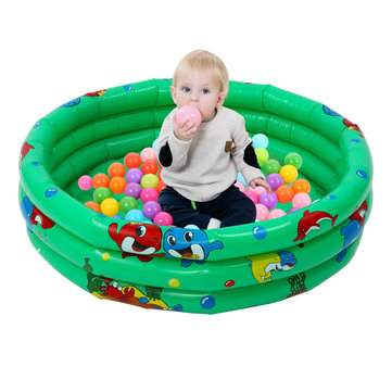 90cm Kids Baby Children Inflatable Swimming Pool 3 Layer Pool Summer Water Fun Play Toy