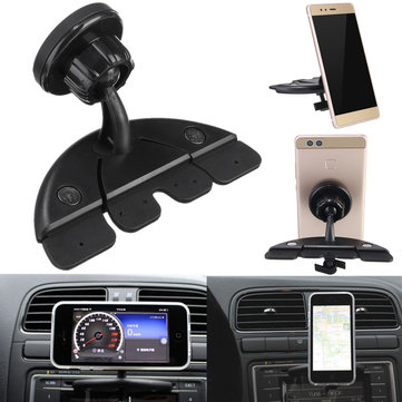 Car CD Player Slot Bracket Magnetic Phone Holder Mount for iPhone iPad Mini Air Samsung Xiaomi GPS