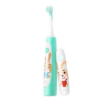 Original Xiaomi SOOCAS / SOOCARE Children Sonic Electric Toothbrush 2 Brush Modes Wireless USB Rechargeable IPX7 Waterproof with APP Fun Teching