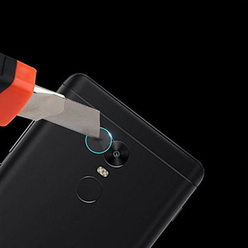 2 PCS Camera Lens Protector Soft Tempered Glass Rear Camera Phone Lens for Xiaomi Redmi 5 Plus