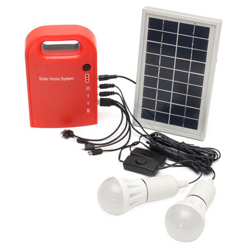 Portable Small DC Solar Panels Charging Generator Power Generation System Charging Generator