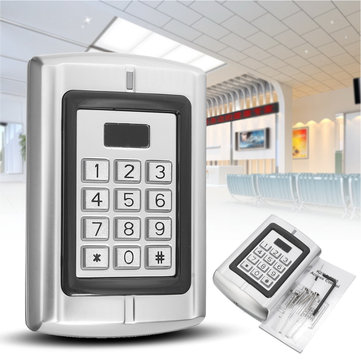 BC-2000 Password Keypad RFID Card Reader Entry Door Lock Access Control Security System