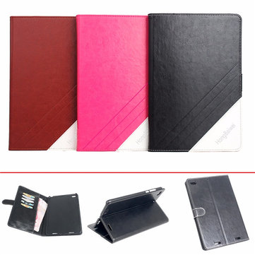Folding Stand PU Leather Case Cover for Xiaomi Mipad 2