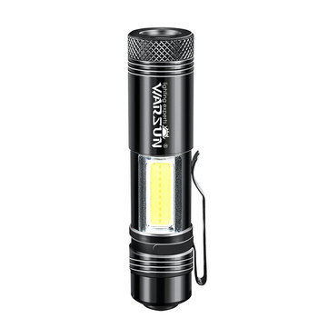 WARSUN Zoom-8 14500 AA EDC Flashlight Mini LED Torch IPX6 Every Day Carry Keychain Light