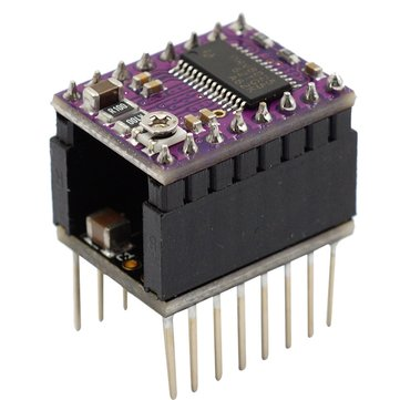 Ultra Silent Protector Plug Type Stepstick Smoother With DRV8825 Stepper Motor Driver For 3D Printer