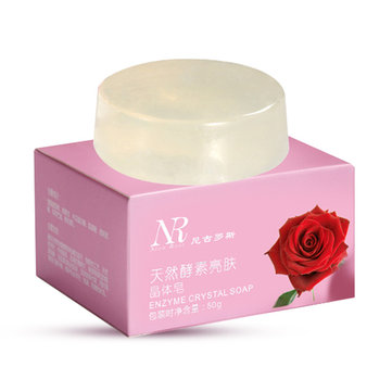 50g Active Enzyme Crystal Soap Natural Body Whitening